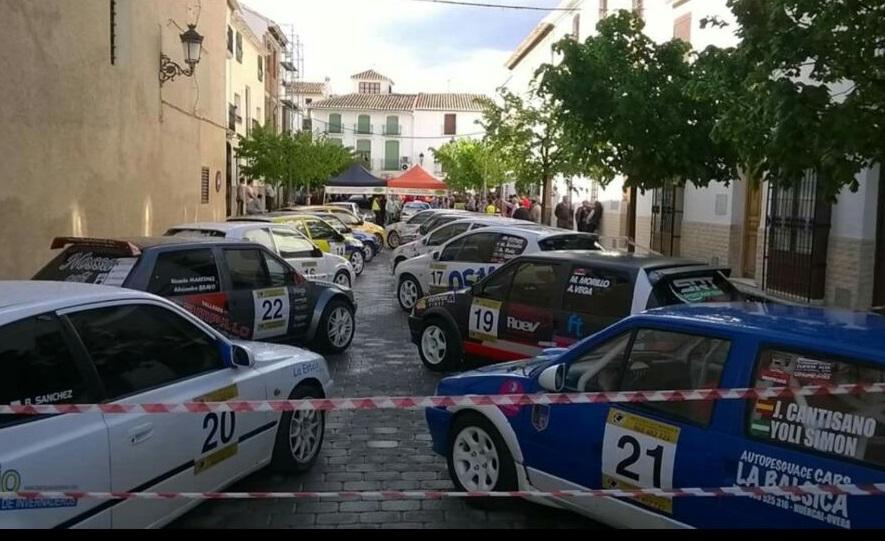 Victoria para los hermanos Benítez Pérez en la primera prueba del Andaluz de Rallycronos