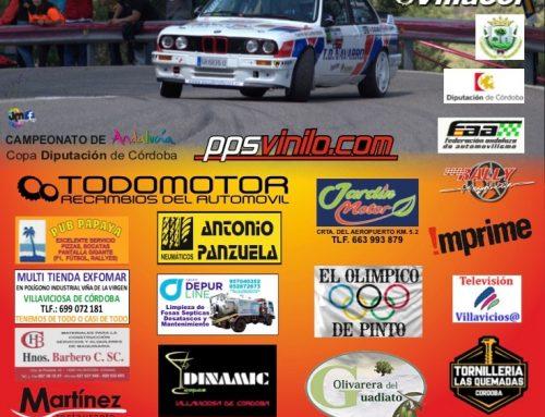 LA IX CRONOMETRADA DE VILLAVICIOSA INAUGURA EL 27 DE ABRIL EL CAMPEONATO DE ANDALUCÍA