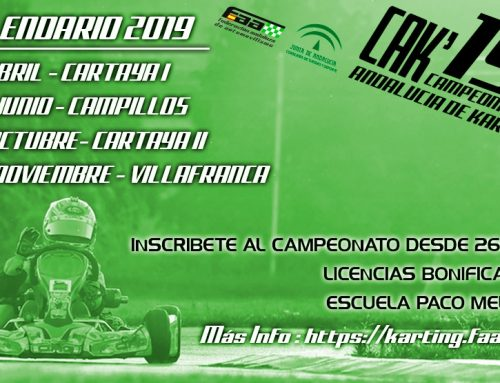 Andaluza de Karting en Campillos – 16 de Junio