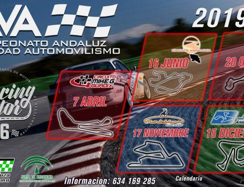 Segunda prueba del CAVA este domingo en el Circuito de Almería