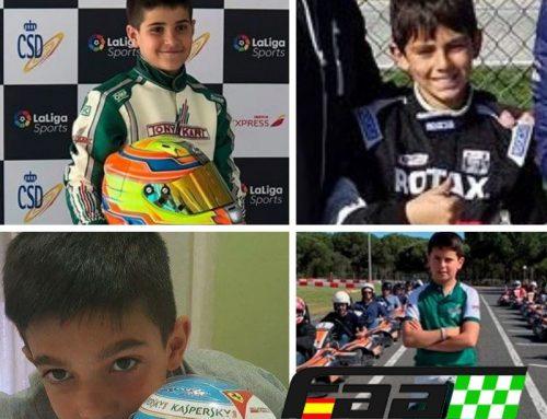 La selección andaluza de Karting se estrena este fin de semana en Chiva (Valencia)