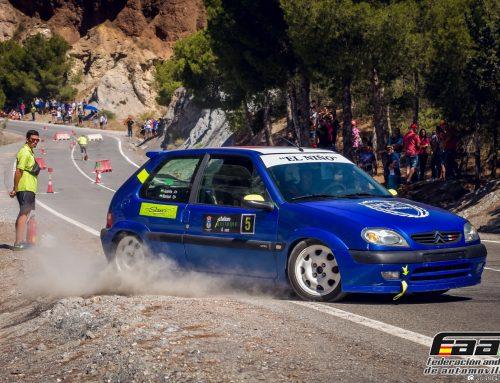 La localidad almeriense de Bayarque acoge este domingo la única prueba oficial del automovilismo andaluz