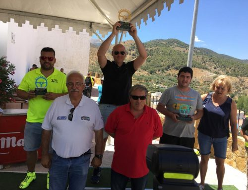 Roberto Cubero vence en el II Slalom de Bayarque y afianza su liderato en el Campeonato de Andalucía