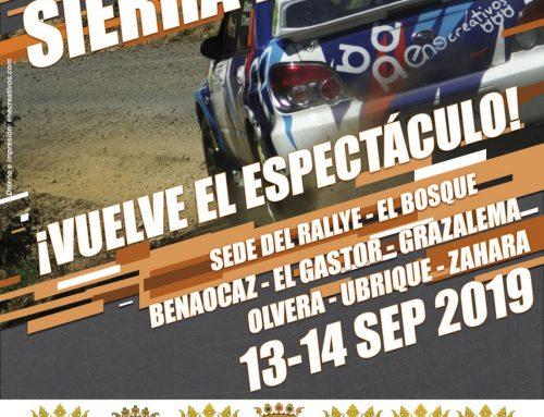 23ª Edición del Rallye Sierra de Cádiz- 13 y 14 de septiembre.